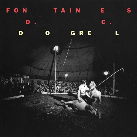 Fontaines DC - Dogrel - LP Vinyl Album Coloured Yellow - Limited Edition