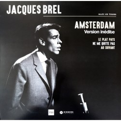 Jacques Brel ‎– Amsterdam - Maxi Vinyl 12 inches Numbered - Record Store Day 2019