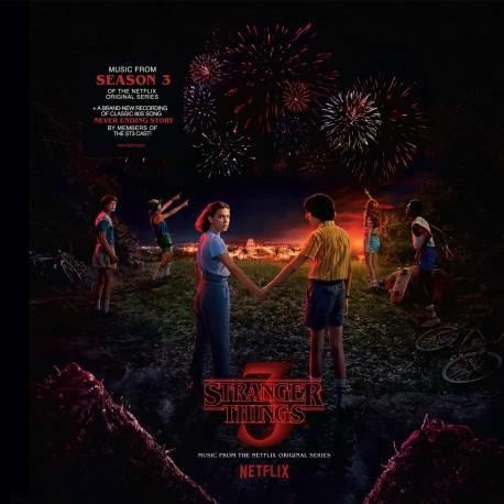 Stranger Things 3 - Netflix Compilation - Double LP Vinyl + Bonus Vinyl