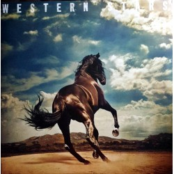 Bruce Springsteen – Western Stars - Double LP Vinyl Coloured Blue Edition + Download Code