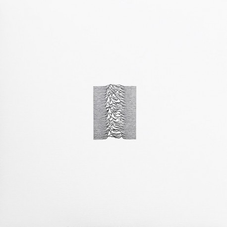 Joy Division – Unknown Pleasures - Limited Edition Coloured Red 40th Anniversary album LP
