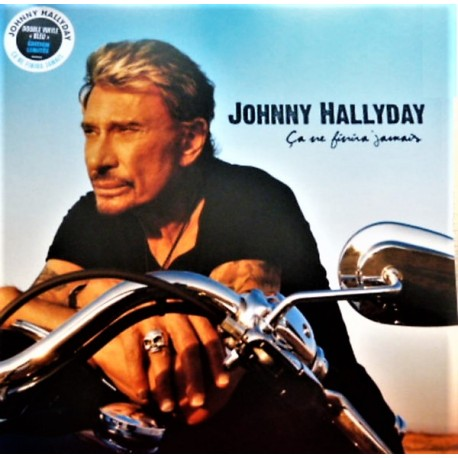 Johnny Hallyday – Ça Ne Finira Jamais - Double LP Vinyl Album Coloured