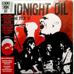 Midnight Oil ‎– Breathe Tour '97 - Double LP Vinyl Coloured