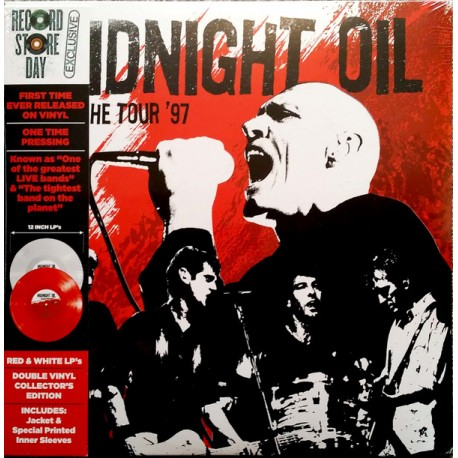 Midnight Oil – Breathe Tour '97 - Double LP Vinyl Coloured