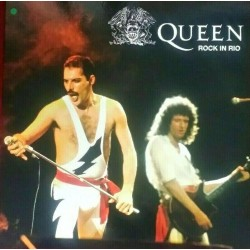 Queen ‎– Rock In Rio - LP Vinyl Album Live Coloured