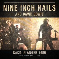 Nine Inch Nails And David Bowie ‎– Back In Anger 1995 - LP Vinyl Album