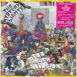 The Mystery Lights ‎– Too Much Tension! - LP Vinyl Album - Coloured Magenta