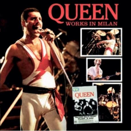 Queen – Works In Milan - Double LP Vinyl Album Coloured + Poster