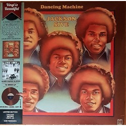 The Jackson 5 ‎– Dancing Machine - LP Vinyl Album Limited Edition Coloured