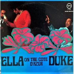 Ella Fitzgerald / Duke Ellington – Ella & Duke At The Côte D'Azur - LP Vinyl Album Occasion