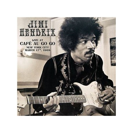 Jimi Hendrix – Live at Café au Go Go, New York City, March 17th, 1968 - Double LP Vinyl Album