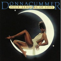 Donna Summer ‎– Four Seasons Of Love - LP Vinyl Album + Poster Calendar