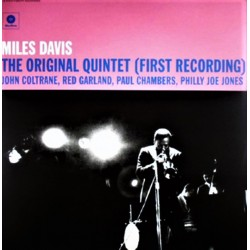 Miles Davis ‎– The Original Quintet - First Recording - LP Vinyl Album