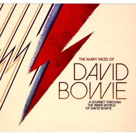 The Many Faces Of David Bowie - Boxset 3 CD Digipack