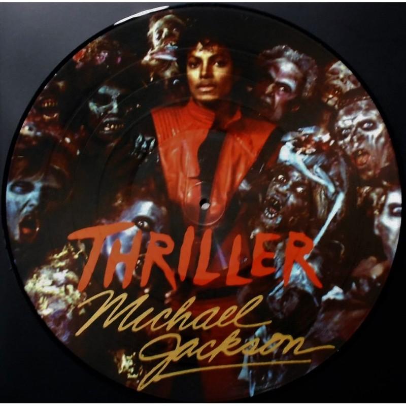 Vinyl Michael Jackson, Thriller album LP Picture Disc