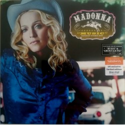 Madonna ‎– Music - LP Vinyl Album Coloured Blue - Sainsbury's Edition