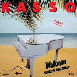 Kasso ‎– Walkman - Maxi Vinyl 12 inches - Italo Disco