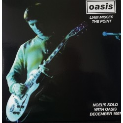 Oasis ‎– Liam Misses The Point - Double LP Vinyl Album - December 1997