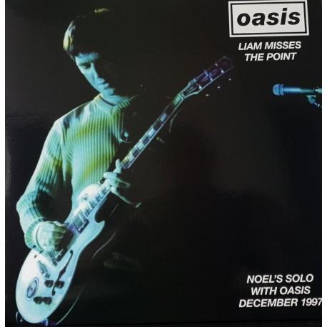 Oasis – Liam Misses The Point - Double LP Vinyl Album - December 1997