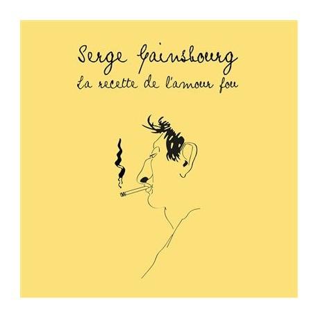 Serge Gainsbourg – La Recette De L'Amour Fou - LP Vinyl Album