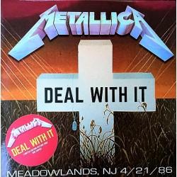 Metallica – Deal With It - LP Vinyl Album - Limited Edition Picture Disc