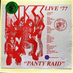 Kiss ‎– Live ´77 Panty Raid - Double LP Vinyl Album - Coloured - Numbered