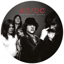 AC/DC ‎– Cleveland Rocks - The Ohio Broadcast 1977 - LP Vinyl Album Picture Disc Edition