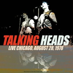 Talking Heads ‎– Best of Live Chicago, August 28, 1978 - LP Vinyl Album