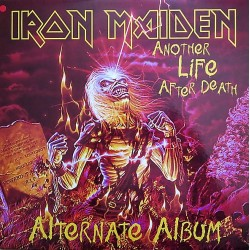 Iron Maiden ‎– Another Life After Death - Double LP Vinyl Album Coloured Red Limited