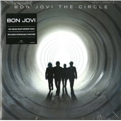 Bon Jovi ‎– The Circle - Double LP Vinyl Album + Free Download Code