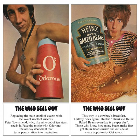 The Who ‎– The Who Sell Out - LP Vinyl Album - Coloured Blue