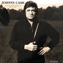 Johnny Cash ‎– Live At Belmond Park In NYC May 23rd, 1981 - LP Vinyl Album