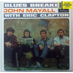 John Mayall & The Bluesbreakers ‎– Blues Breakers With Eric Clapton - LP Vinyl Album
