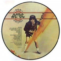 AC/DC ‎– High Voltage - LP Vinyl Album Picture Disc Edition