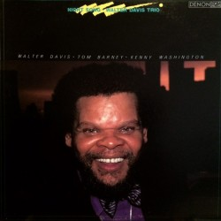 Walter Davis Trio ‎– Night Song - LP Vinyl Album Jazz