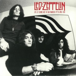 Led Zeppelin ‎– Live At Fillmore West In San Francisco 24th Of April 1969 - LP Vinyl Album