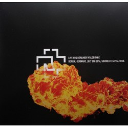 Rammstein ‎– Live Aus Berliner Waldbühne - Double LP Vinyl Album - Blood Limited Edition