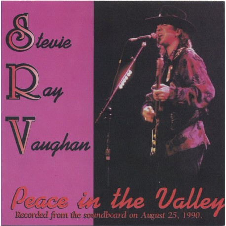 Stevie Ray Vaughan ‎– Peace In The Valley - LP Vinyl Album Coloured