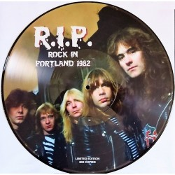 Iron Maiden ‎– Rock in Portland 1982 - R.I.P.- Picture Disc Limited Edition album LP Vinyl