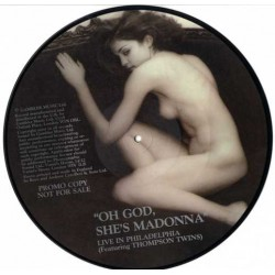 Madonna ‎– Oh God, She's Madonna - Live In Philadelphia - LP Vinyl Album Picture Disc