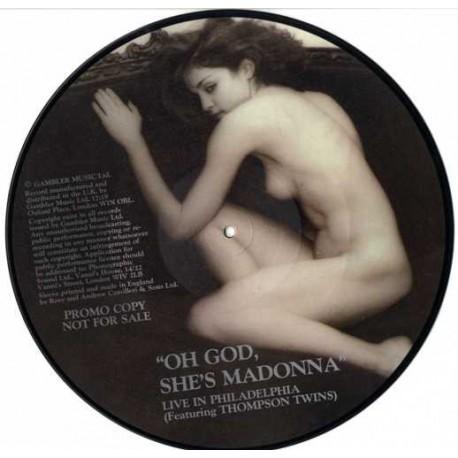 Madonna – Oh God, She's Madonna - Live In Philadelphia - LP Vinyl Album Picture Disc