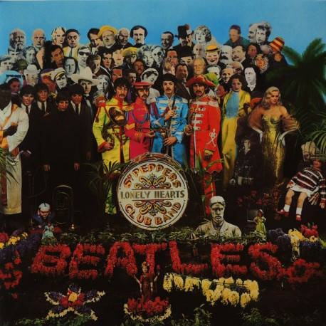 The Beatles – Sgt. Pepper's Lonely Hearts Club Band - LP Vinyl Album Gatefold Sleeve Italy