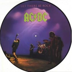 AC/DC – Let There Be Rock - LP Vinyl Album - Picture Disc Edition