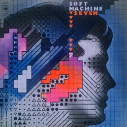 Soft Machine ‎– Seven - LP Vinyl Album Gatefold Sleeve 1973