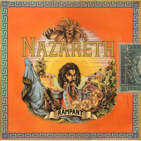 Nazareth ‎– Rampant - LP Vinyl Album France 1974