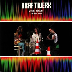 Kraftwerk – Live In Germany 25 June 1971 - Double LP Vinyl Album