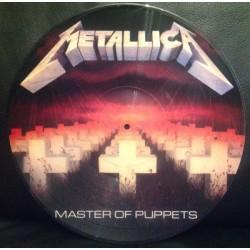Metallica – Master Of Puppets - LP Vinyl Album Picture Disc Edition
