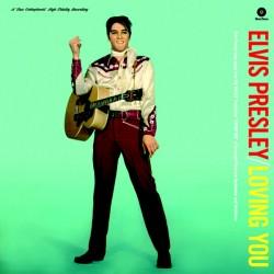 Elvis Presley – Loving You - LP Vinyl Album Mono - Limited Edition