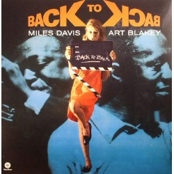 Miles Davis - Art Blakey – Back To Back - LP Vinyl Album Mono Version - Compilation