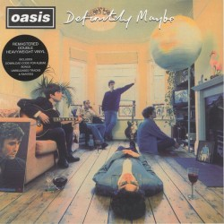 Oasis ‎– Definitely Maybe - Double LP Vinyl Album